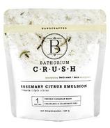 Bathorium CRUSH Rosemary Citrus Emulsion Energizing Bath Soak
