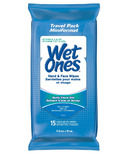 Wet Ones Vitamin E & Aloe Hand & Face Wipes