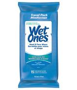 Wet Ones Vitamin E & Aloe Hand & Face Wipes