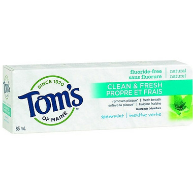 Tom\'s of Maine Clean & Fresh Fluoride-Free Toothpaste