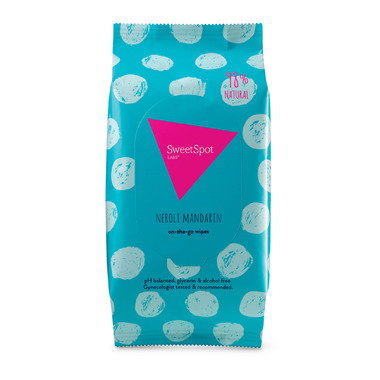 SweetSpot Labs Neroli Mandarin On-the-go Wipes