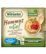 Wild Garden Roasted Garlic Hummus and Quinoa Chips