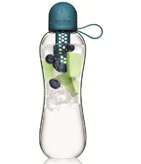 bobble Infuse Water Bottle Peacock
