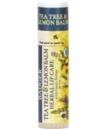 Badger Herbal Lip Care with Cocoa Butter in Tea Tree & Lemon Balm