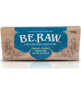 EcoIdeas Be Raw Earth Salt Chocolate Bar