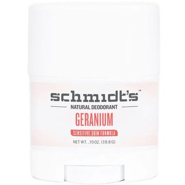 Schmidt\'s Deodorant Geranium Flower Sensitive Skin Deodorant Travel Size