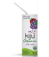 Kiju Organic Grape-Apple Juice Boxes