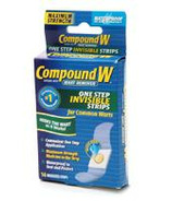 Compound W Invisible Wart Remover Pads