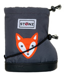 Stonz Fox Grey Toddler Booties