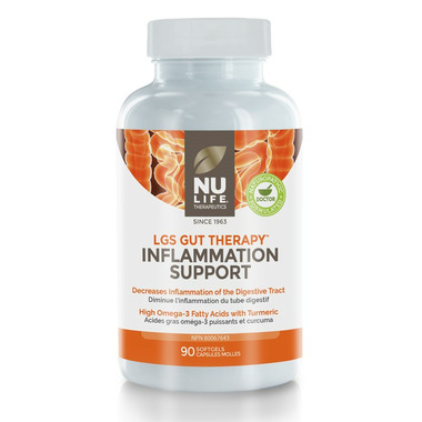 Nu Life Therapeutics LGS Gut Therapy Inflammation Support