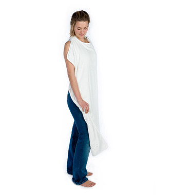 Cuddledry Apron Towel Pure White