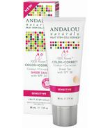 ANDALOU naturals 1000 Roses CC Cream Sheer Tan Tint
