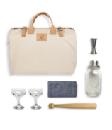 Mason Shaker Cocktail Kit in White