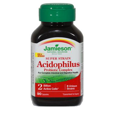 Buy Jamieson Super Strain Acidophilus Probiotic Supplement