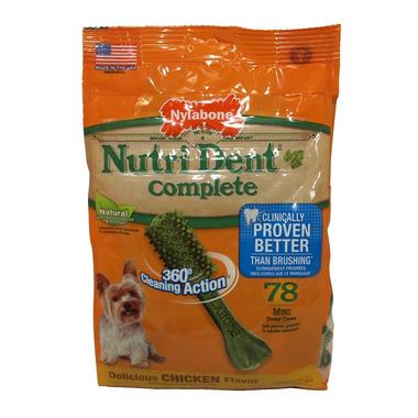 Nutri Dent Complete Dental Chews Chicken Mini Size 78 Pack