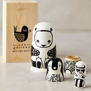 Wee Gallery Nesting Dolls Animals