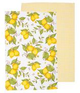 Now Designs Lemons Dishtowels Set