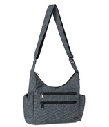 Lug Camper Cross-Body Bag Heather Grey