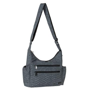 Lug Camper Cross-Body Bag Heather Grey