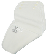 Mother ease White Cotton Snap In Absorbent Liner