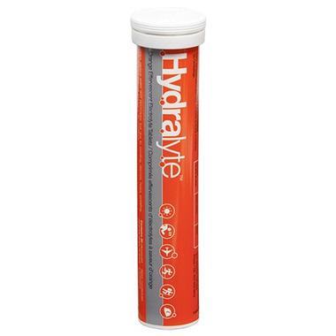 Hydralyte Orange Effervescent Tablets