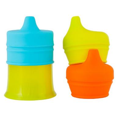 Boon Snug Spout With Cup Orange Multi