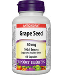 Webber Naturals Grape Seed Extract Capsules