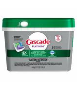 Cascade Platinum ActionPacs Dishwasher Detergent Fresh Scent