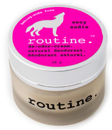 Routine Baking Soda Free De-Odor-Cream Natural Deodorant Sexy Sadie