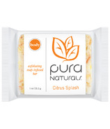 Pura Naturals Body Soap-Infused Sponge Citrus Splash