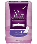 Poise Overnight Pads Long