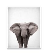 mavisBLUE Lil Darlings Elephant 11x14