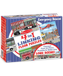 Melissa & Doug Emergency Rescue Linking Floor Puzzle