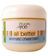 Peas In A Pod All Better Aromatic Chest Balm