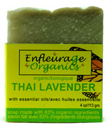 Enfleurage Organics Bar Soap Thai Lavender