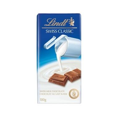 Lindt Swiss Classic Milk Chocolate Bar