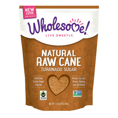 Wholesome Sweeteners Fair Trade Raw Cane Sugar