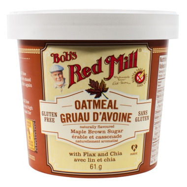 Bob\'s Red Mill Maple Brown Sugar Oatmeal Cup