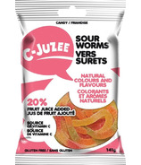 C-Juzee Sour Gummy Worms