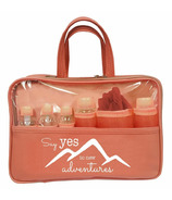 Danielle Creations Statement Travel Set 7 Piece Coral