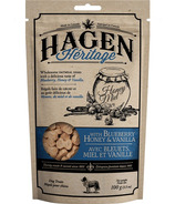 Hagen Heritage Oatmeal Dog Treats Blueberry Honey and Vanilla