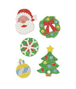 Melissa & Doug Mess- Free Glitter Christmas Stickers