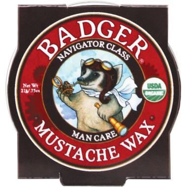 Badger Navigator Class Man Care Mustache Wax