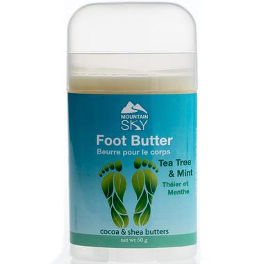 Mountain Sky Energizing Mint & Tea Tree Foot Butter