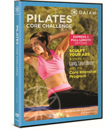 Gaiam Pilates Core Challenge DVD