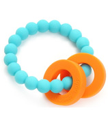 Chewbeads Baby Mulberry Teether Turquoise