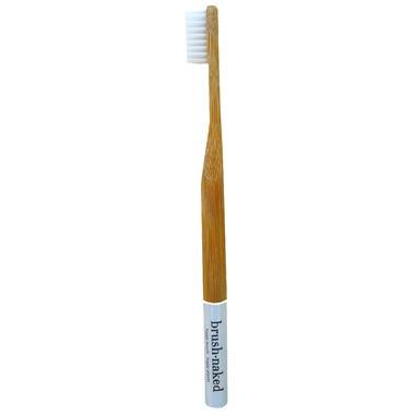 Brush Naked Bamboo Kids Toothbrush Soft White