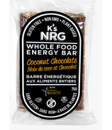 K's NRG Whole Food Energy Bar Coconut Chocolate