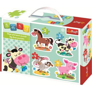 Trefl First Puzzle Farm Animals