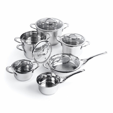 BergHOFF Straight 12 Piece Cookware Set